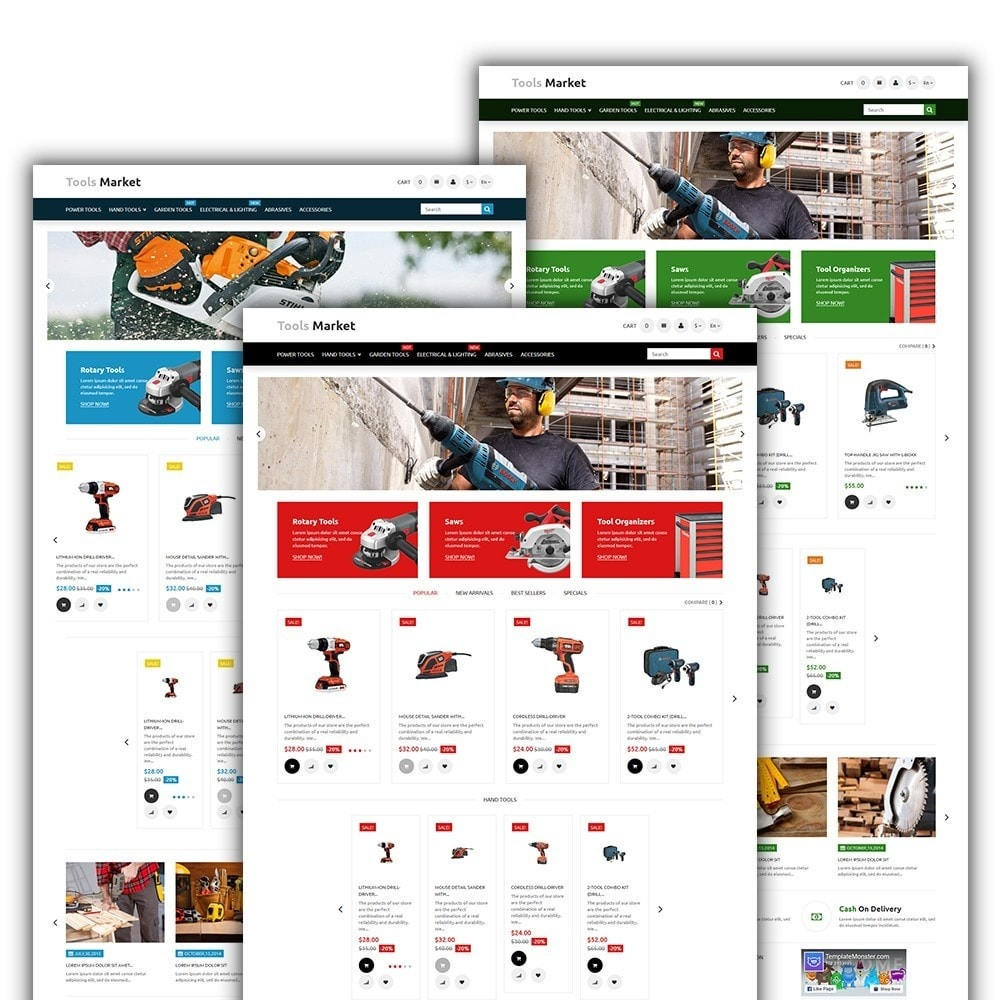 theme - Home & Garden - Tools Market - Home Repairs Template - 2