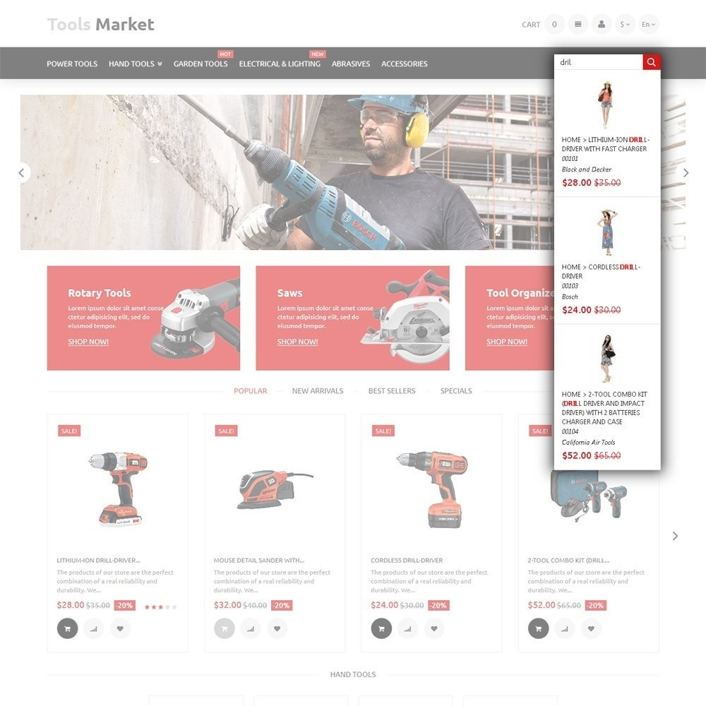 theme - Home & Garden - Tools Market - Home Repairs Template - 6