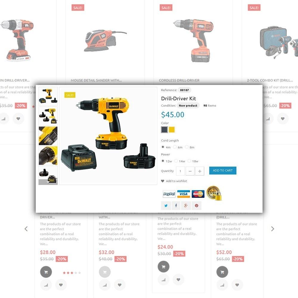 theme - Hogar y Jardín - Tools Market - para Sitio de Reparaciones del hogar - 4