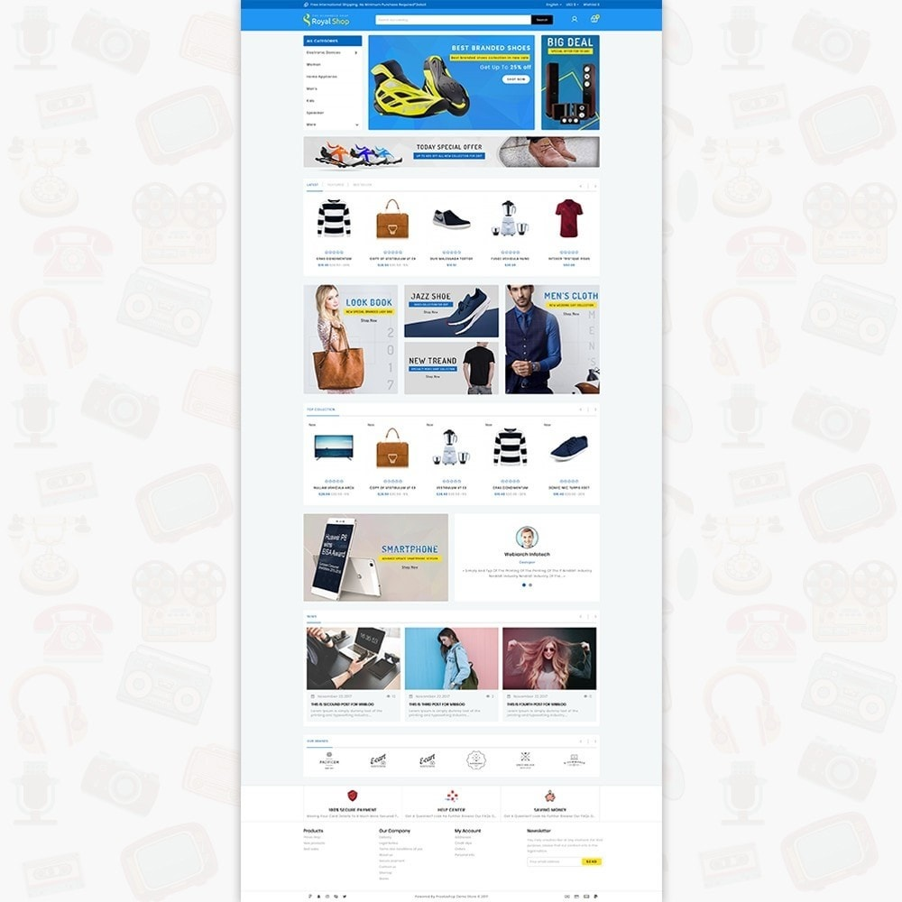 theme - Electrónica e High Tech - Royal Shop - The Ecommerce Shop - 2