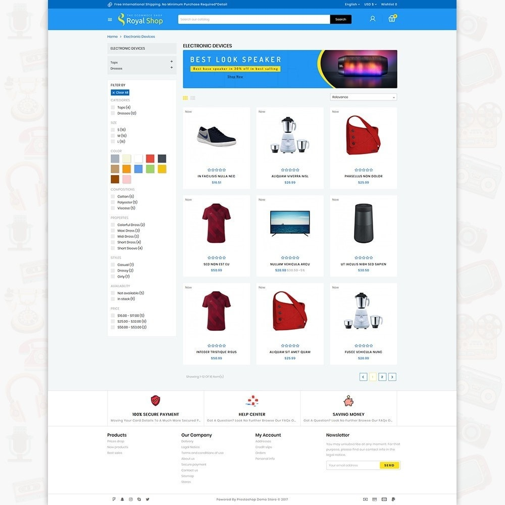 theme - Electrónica e High Tech - Royal Shop - The Ecommerce Shop - 3