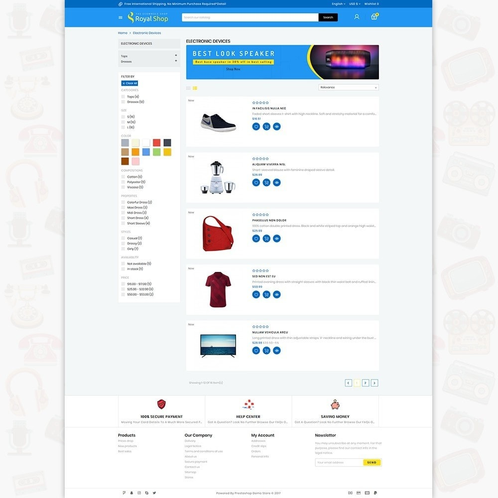 theme - Electrónica e High Tech - Royal Shop - The Ecommerce Shop - 4