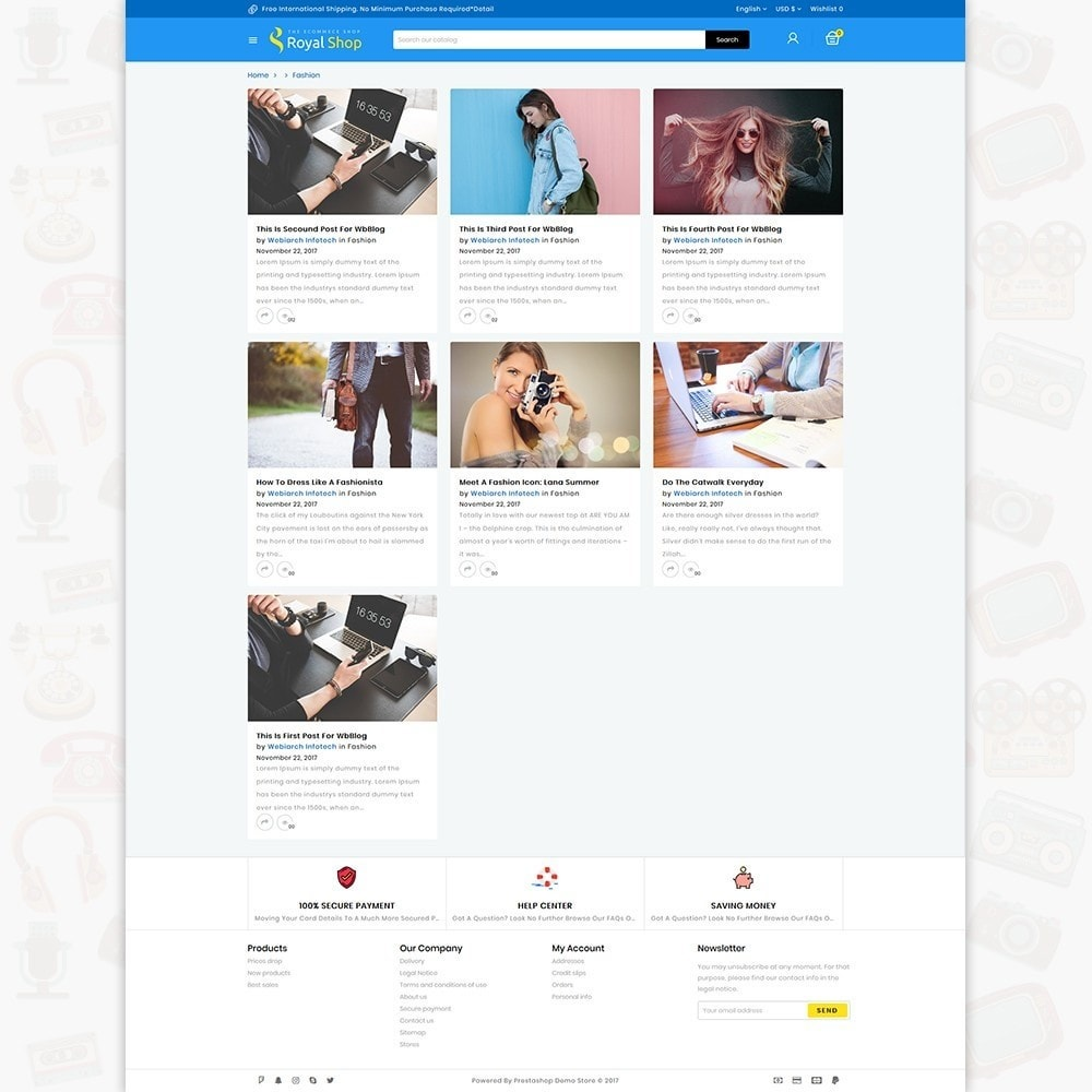 theme - Electrónica e High Tech - Royal Shop - The Ecommerce Shop - 6