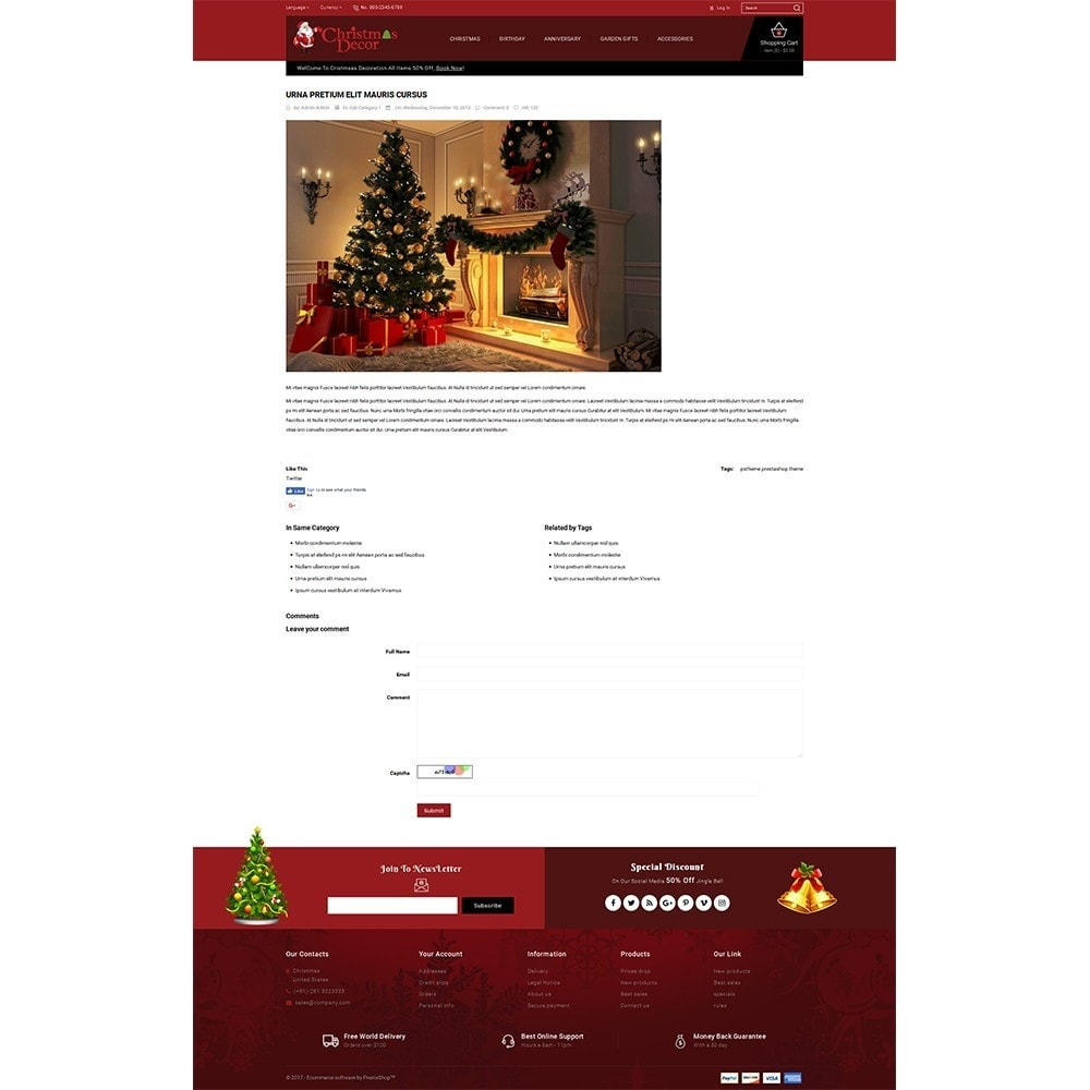 theme - Gifts, Flowers & Celebrations - Christmas Store - 6
