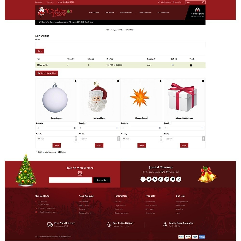 theme - Gifts, Flowers & Celebrations - Christmas Store - 10