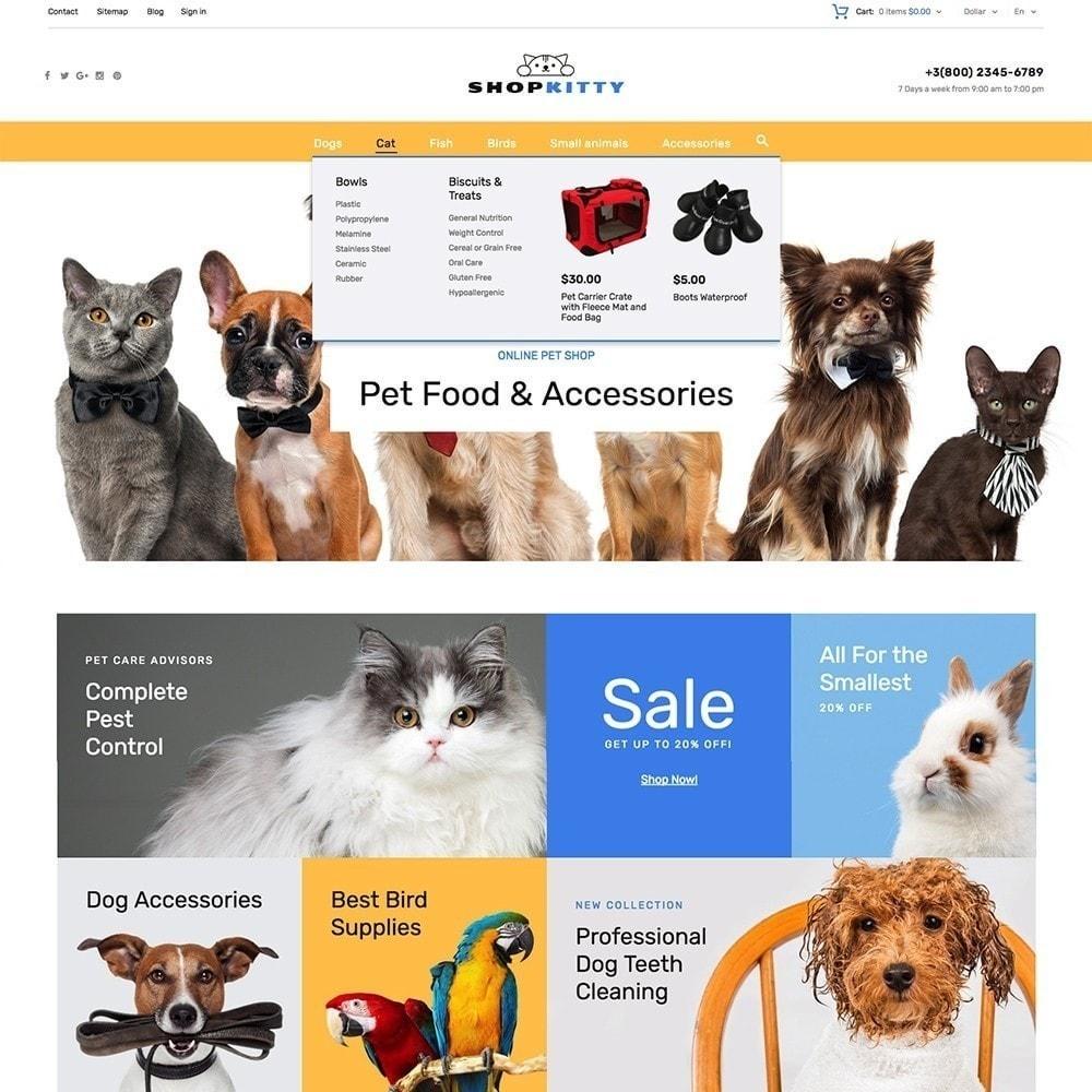 theme - Animales y Mascotas - ShopKitty - 5