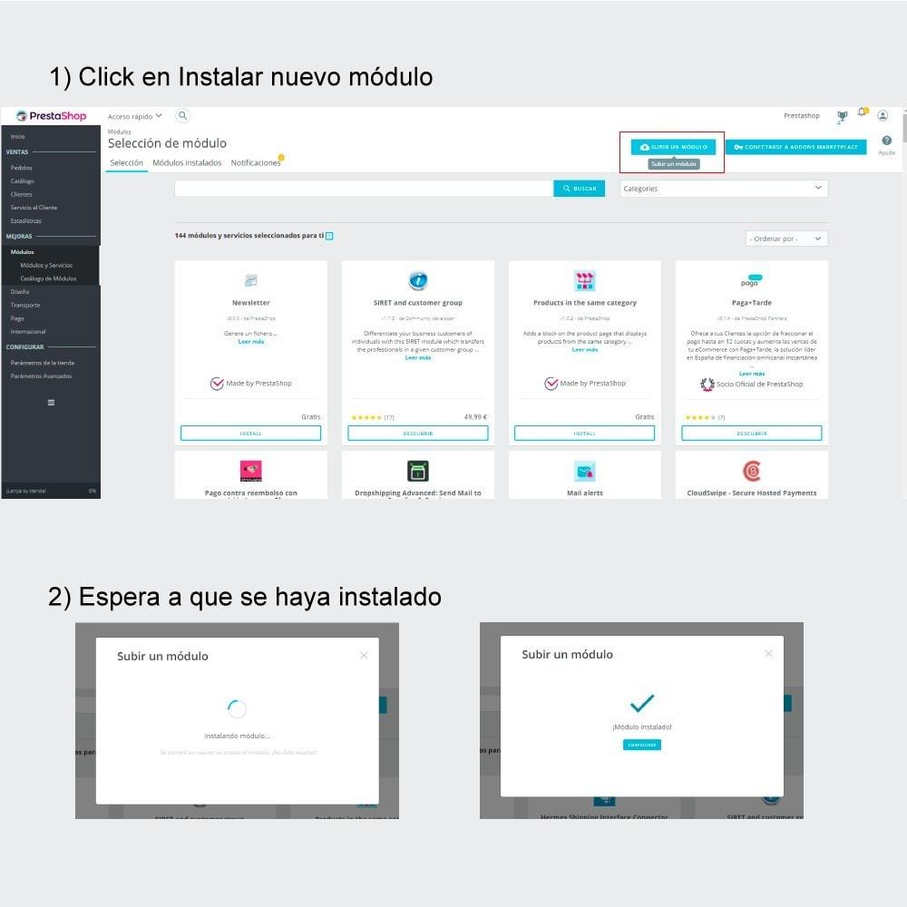 module - Edición Rápida y Masiva - Información Productos BackOffice - 1