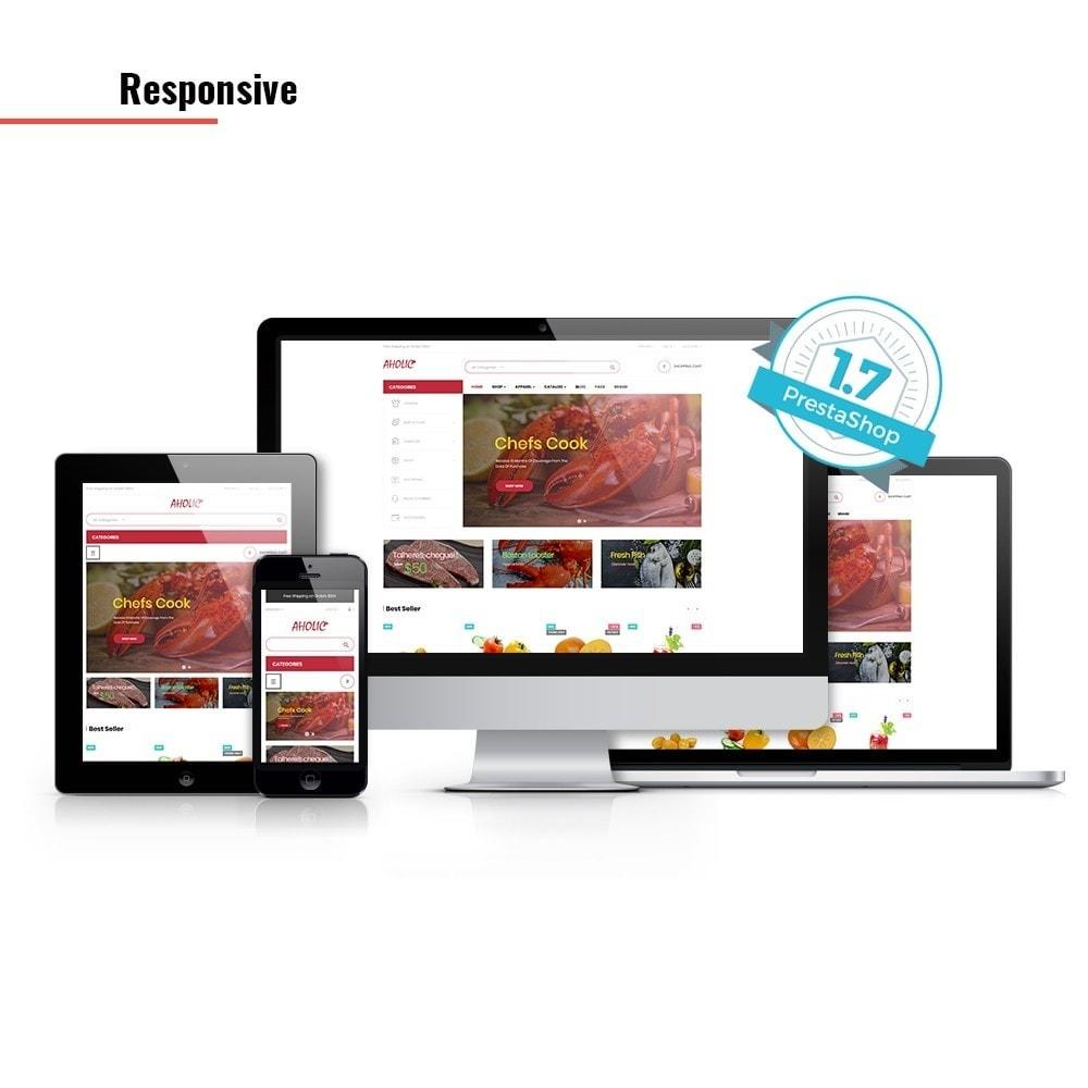 theme - Żywność & Restauracje - Leo Foodaholic - 2