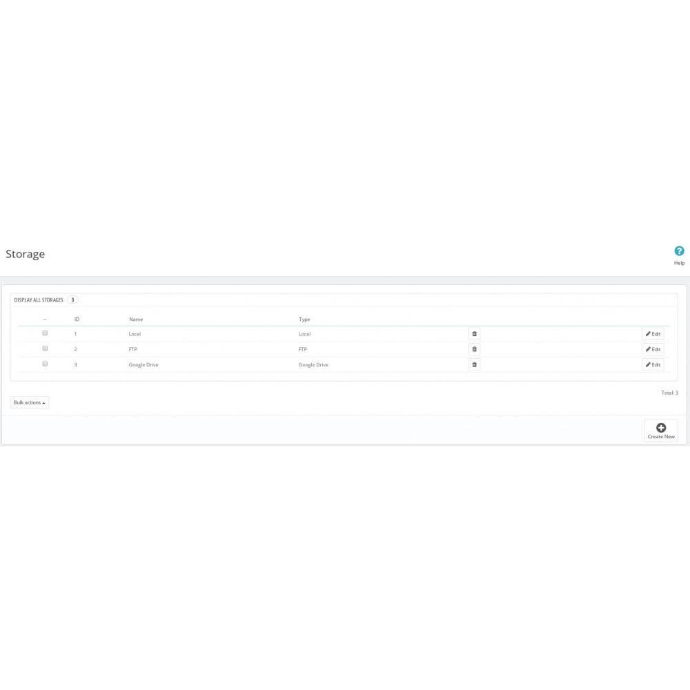 module - Migration de Données & Sauvegarde - Smart Backup - 1