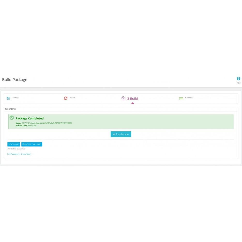 module - Migration de Données & Sauvegarde - Smart Backup - 10