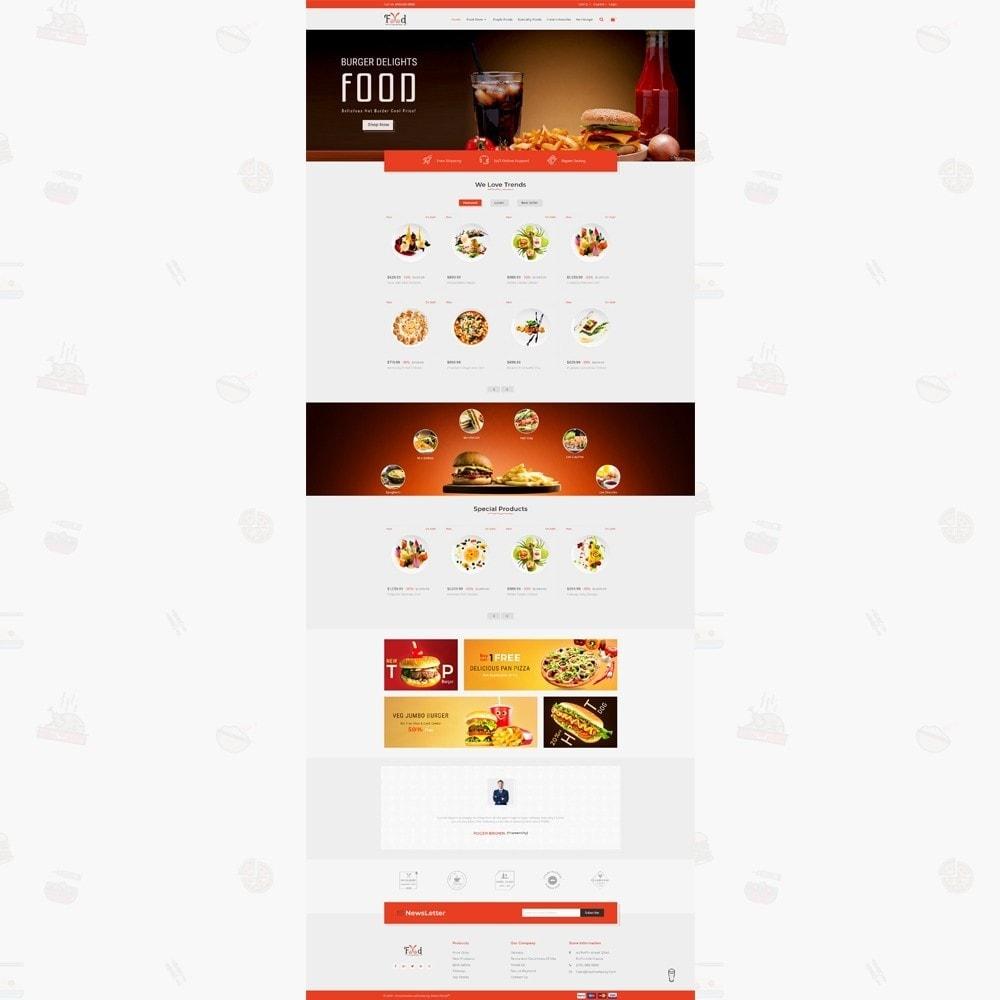 theme - Lebensmittel & Restaurants - Pizz King - Food Store - 2