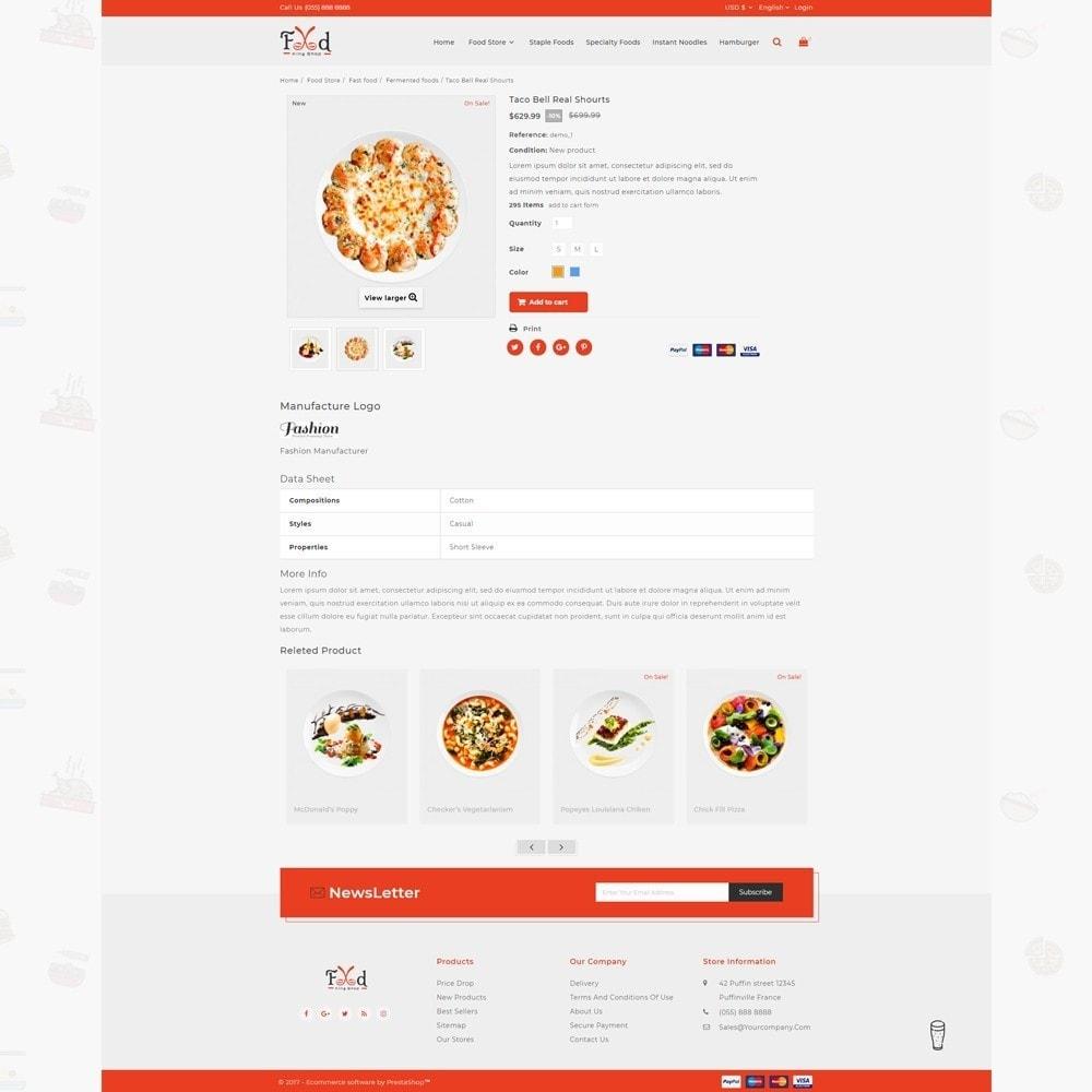 theme - Lebensmittel & Restaurants - Pizz King - Food Store - 4
