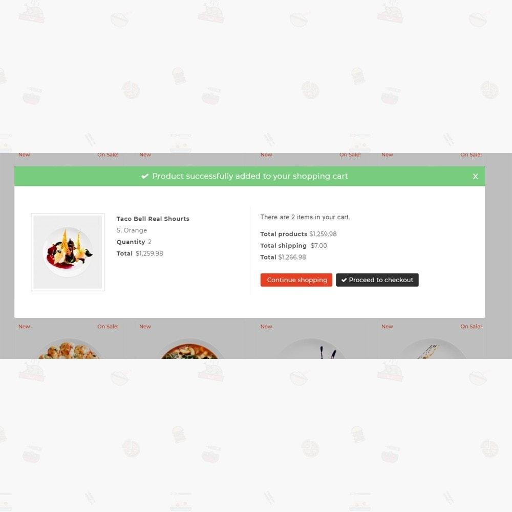 theme - Lebensmittel & Restaurants - Pizz King - Food Store - 6