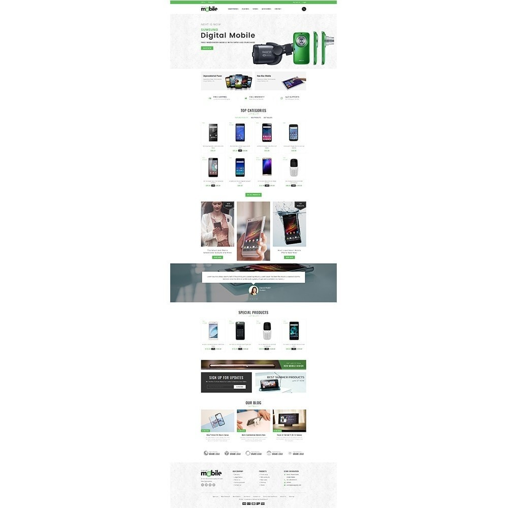 theme - Elektronika & High Tech - Smart Mobile Store - 2
