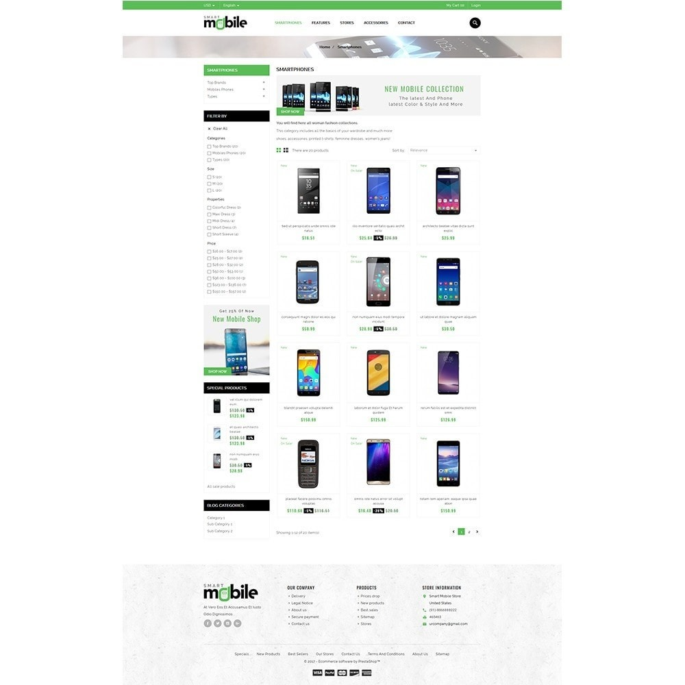 theme - Elektronika & High Tech - Smart Mobile Store - 3