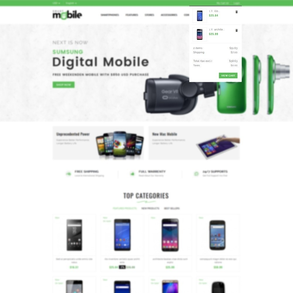 theme - Elektronika & High Tech - Smart Mobile Store - 6