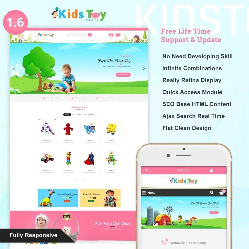theme - Crianças & Brinquedos - Enjoy - Kids Toy Store - 1