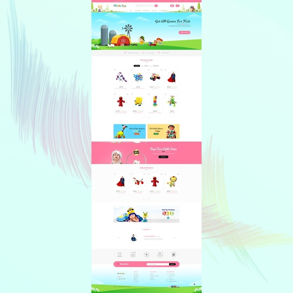 theme - Crianças & Brinquedos - Enjoy - Kids Toy Store - 2