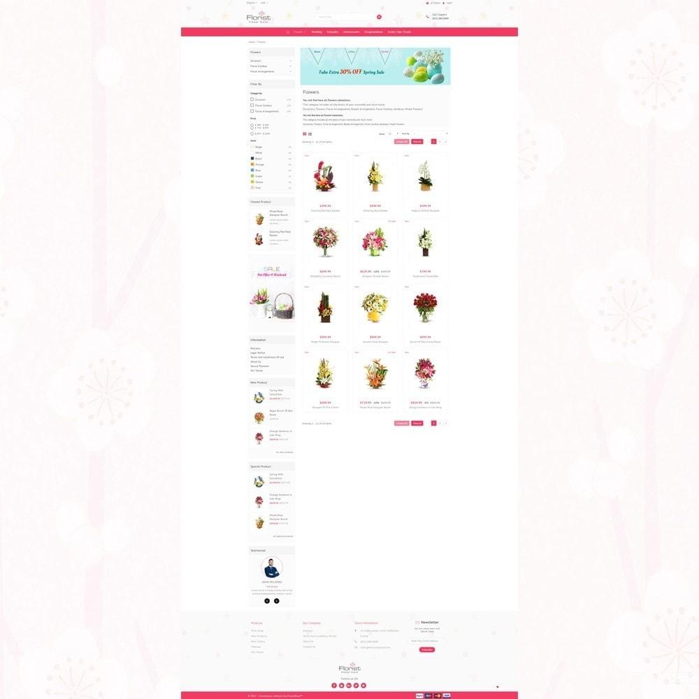 theme - Presentes, Flores & Comemorações - Florist - Boutique Flower Store - 3