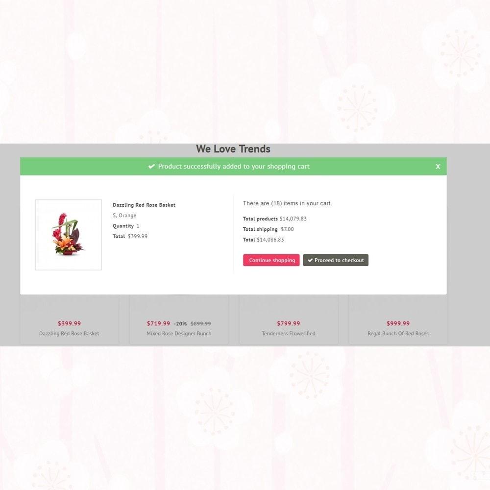 theme - Presentes, Flores & Comemorações - Florist - Boutique Flower Store - 6