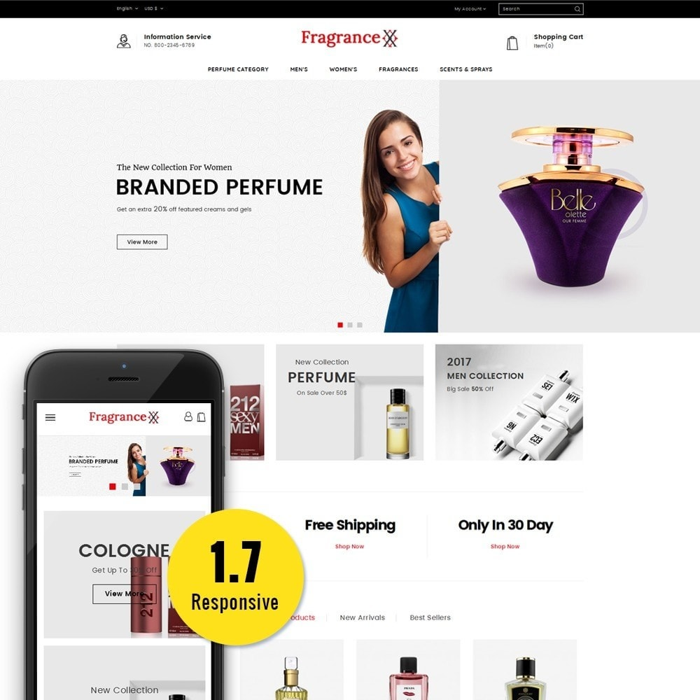 theme - Santé & Beauté - Fragrance Store - 1