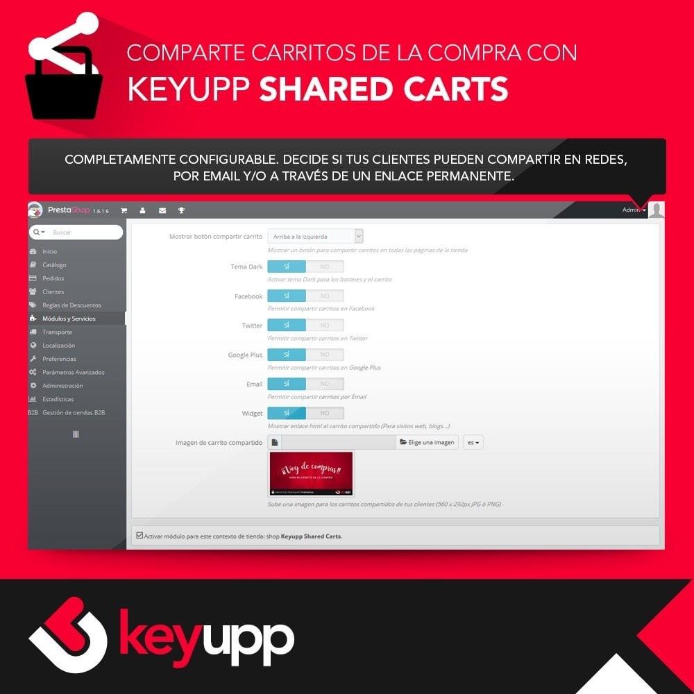 module - Compartir contenidos y Comentarios - Carritos de la compra compartidos - 2