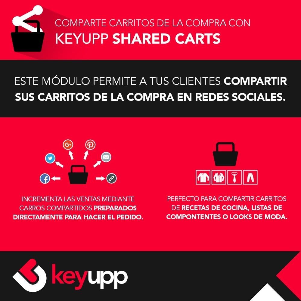 module - Compartir contenidos y Comentarios - Carritos de la compra compartidos - 1