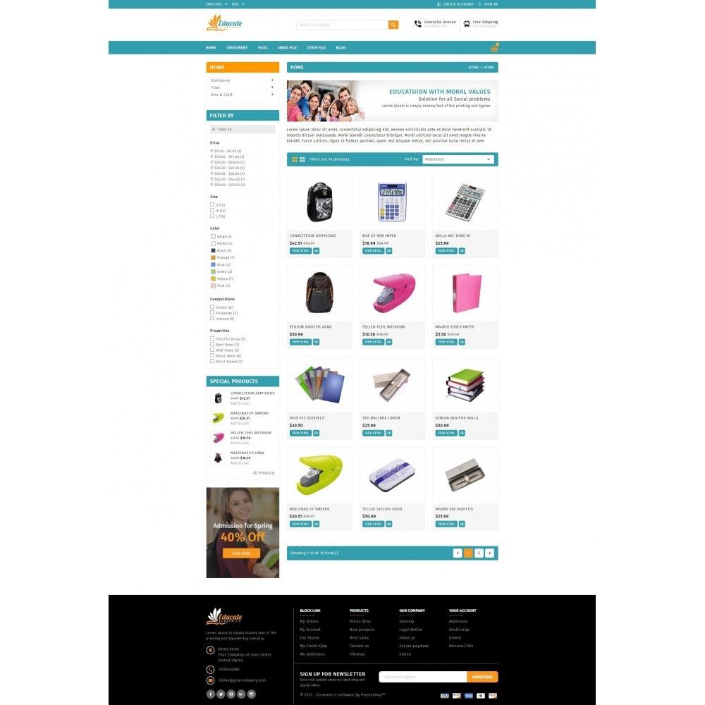 theme - Zabawki & Artykuły dziecięce - Educate - Acadamic & Stationary - 3