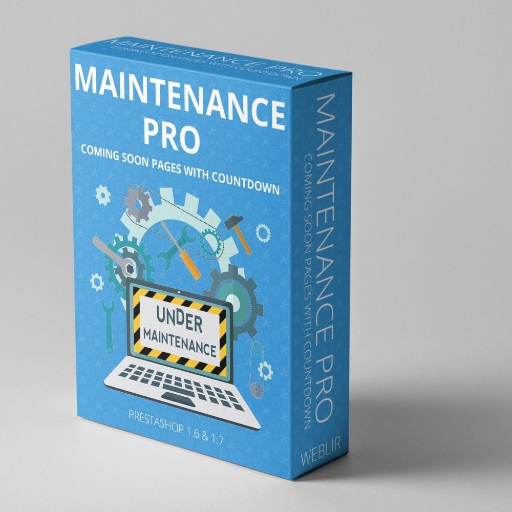 module - Personalização de página - Maintenance Pro - Wkrótce strony z odliczaniem - 1