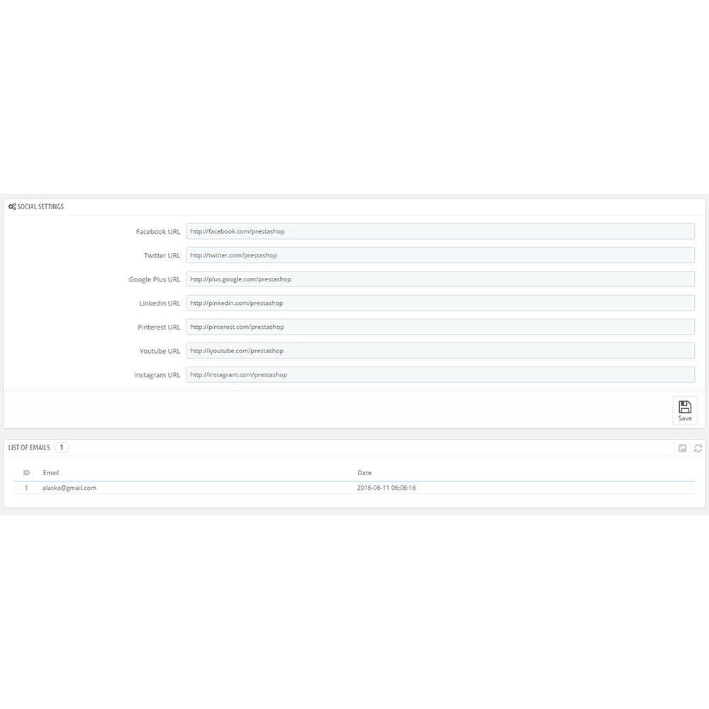 module - Personalização de página - Maintenance Pro - Wkrótce strony z odliczaniem - 4