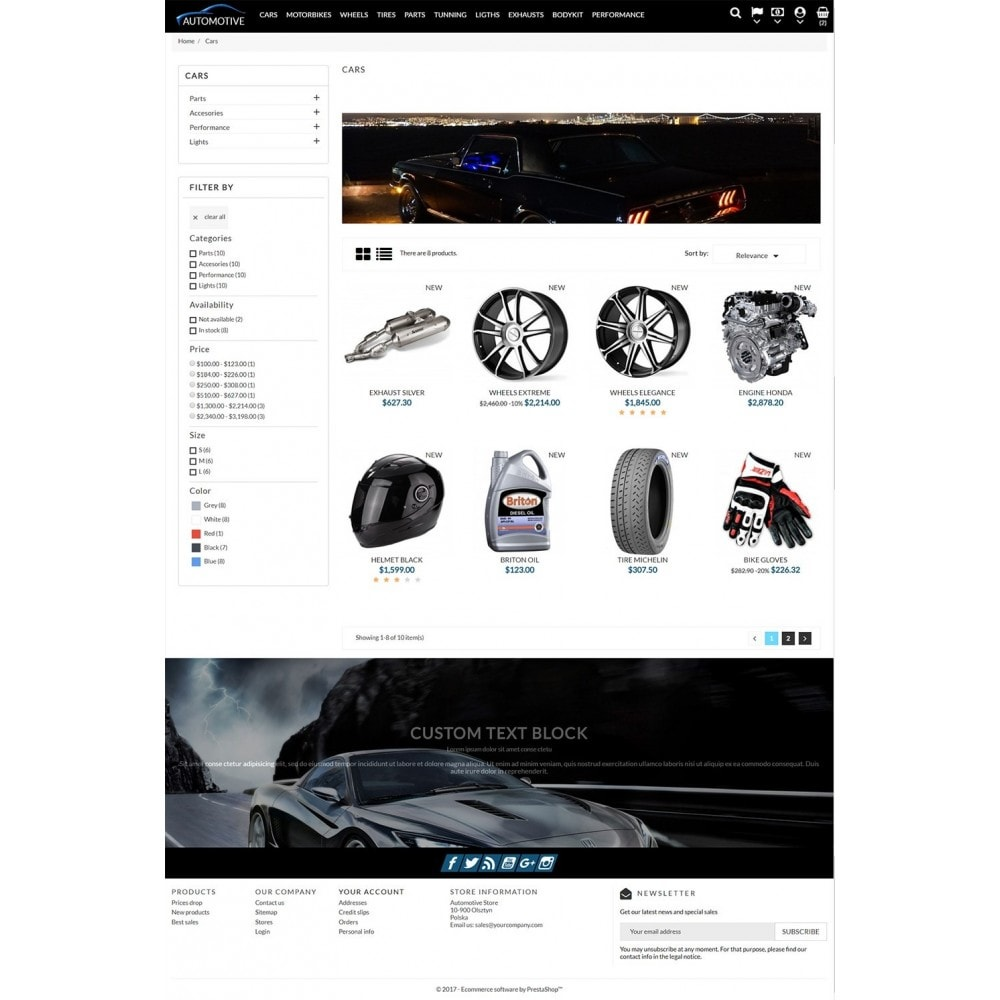 theme - Auto's & Motoren - Automotive Store - 4
