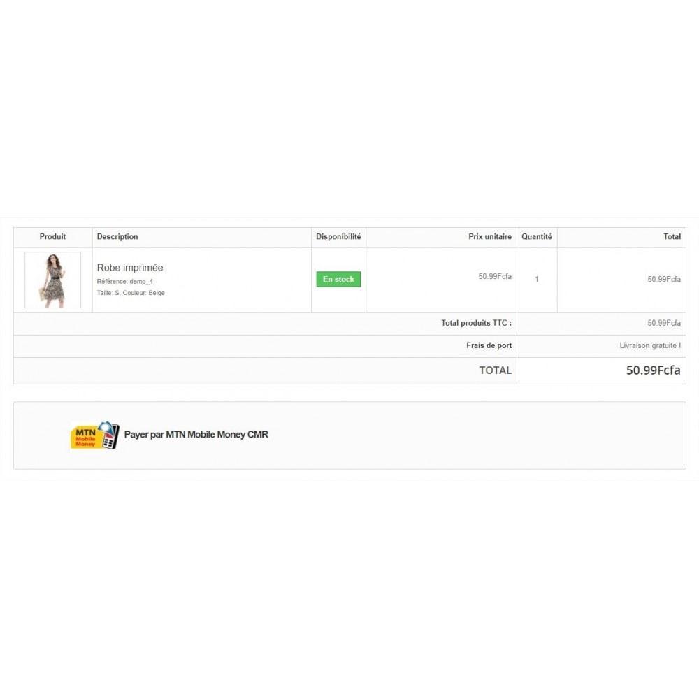 module - Autres moyens de paiement - MTN Mobile Money CMR - 2