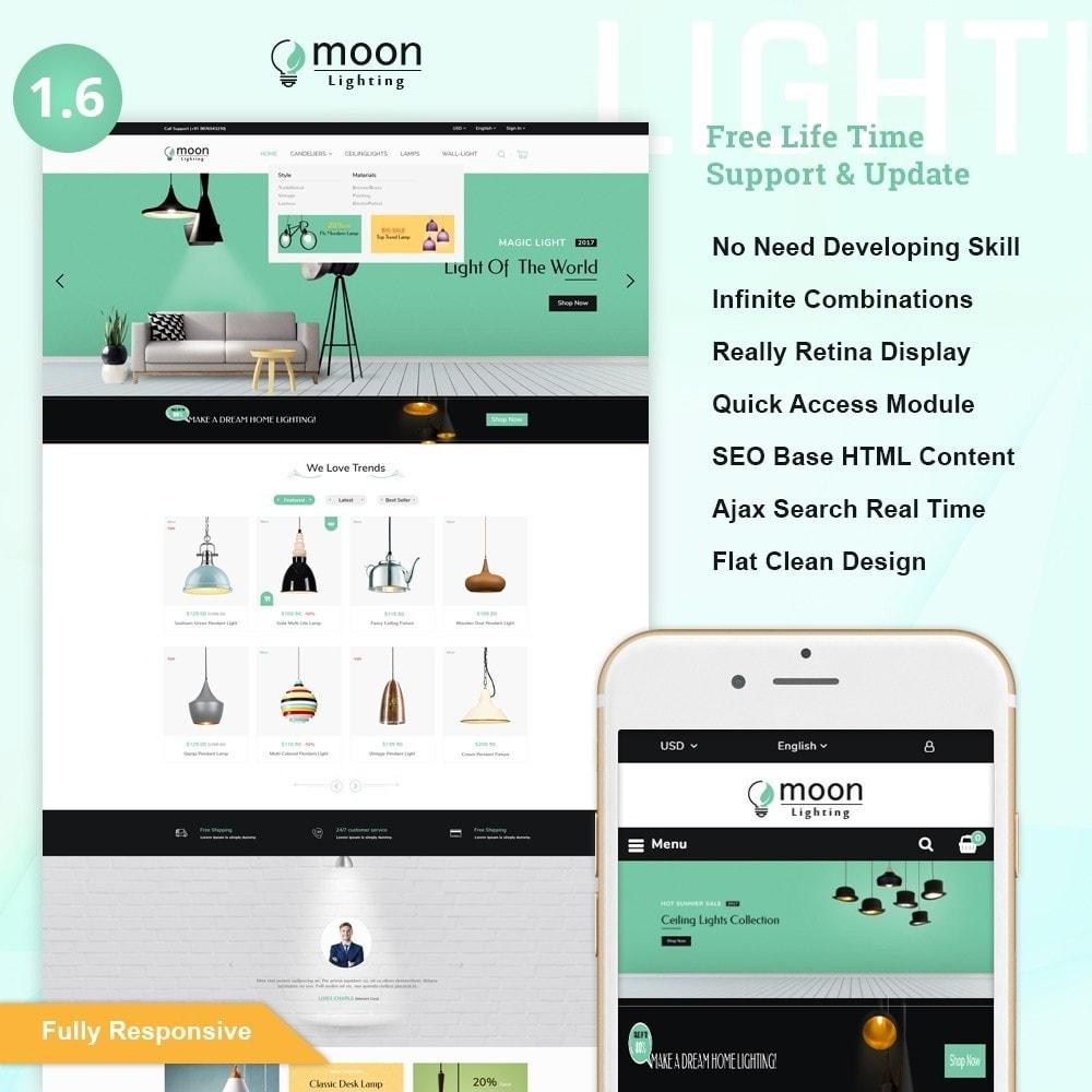 theme - Дом и сад - Moon – Lighting Decor Shop - 1