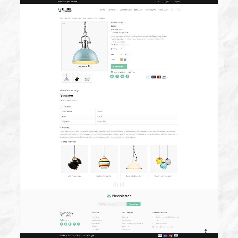 theme - Дом и сад - Moon – Lighting Decor Shop - 4