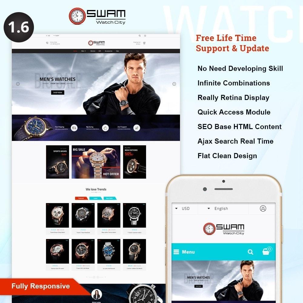 theme - Sport, Rozrywka & Podróże - Swam - Luxurious Watch Shop - 1