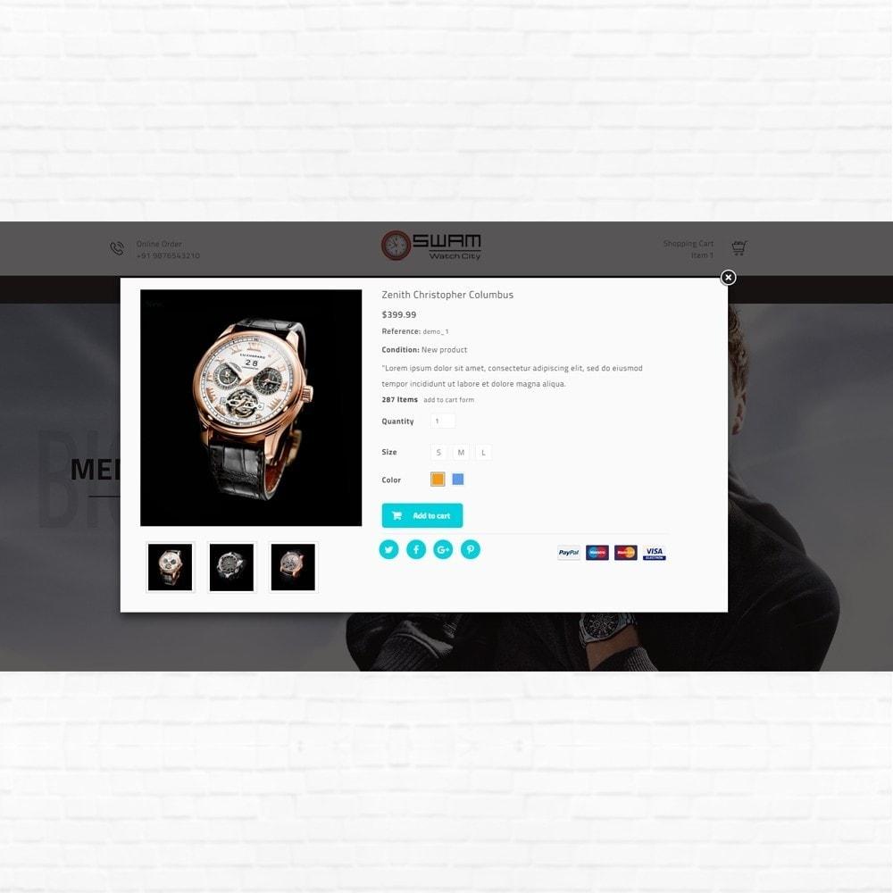 theme - Sport, Rozrywka & Podróże - Swam - Luxurious Watch Shop - 7