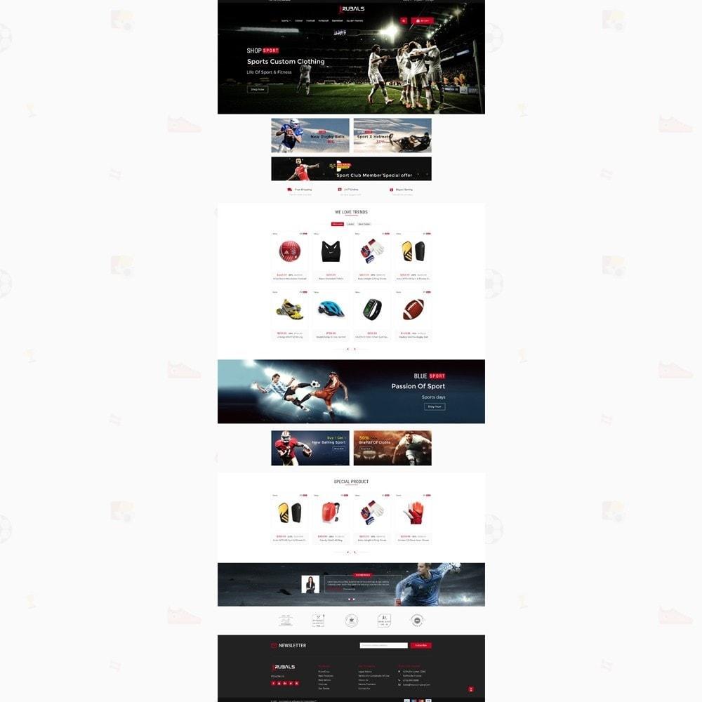 theme - Desporto, Actividades & Viagens - Rubals - Sports Club Store - 2