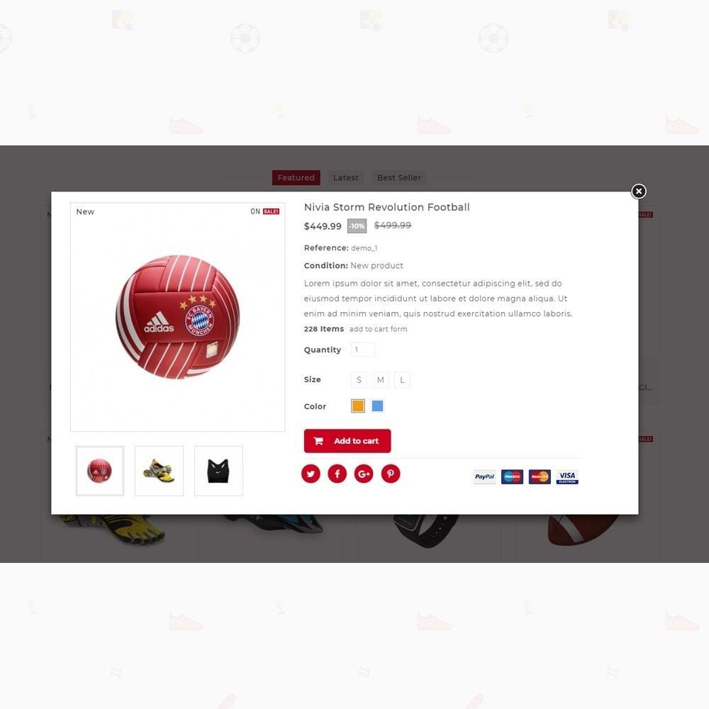 theme - Desporto, Actividades & Viagens - Rubals - Sports Club Store - 6