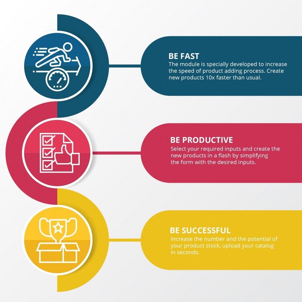 module - Edição rápida & em massa - Produtos rápidos - Crie produtos de forma mais rápida - 3