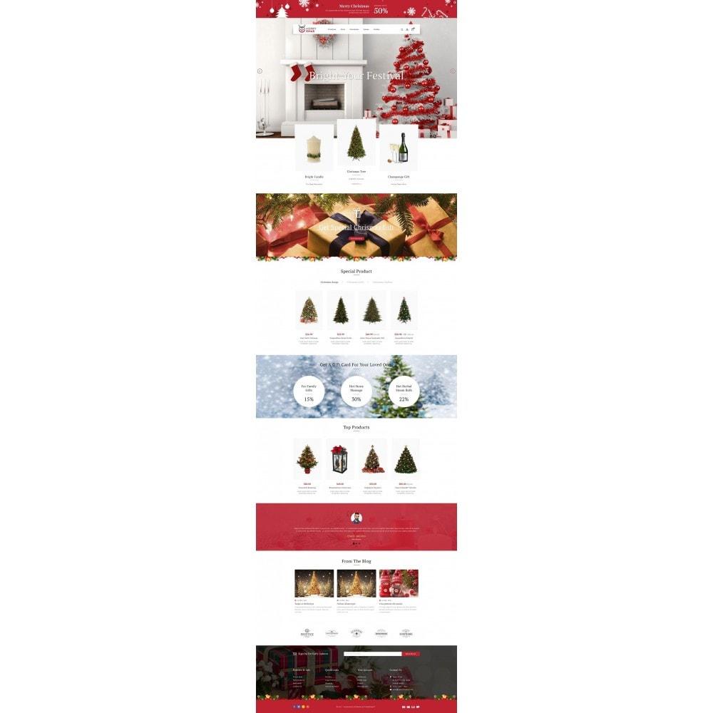 theme - Cadeaux, Fleurs et Fêtes - Merry XMAS - Gifts & Flowers Store - 2