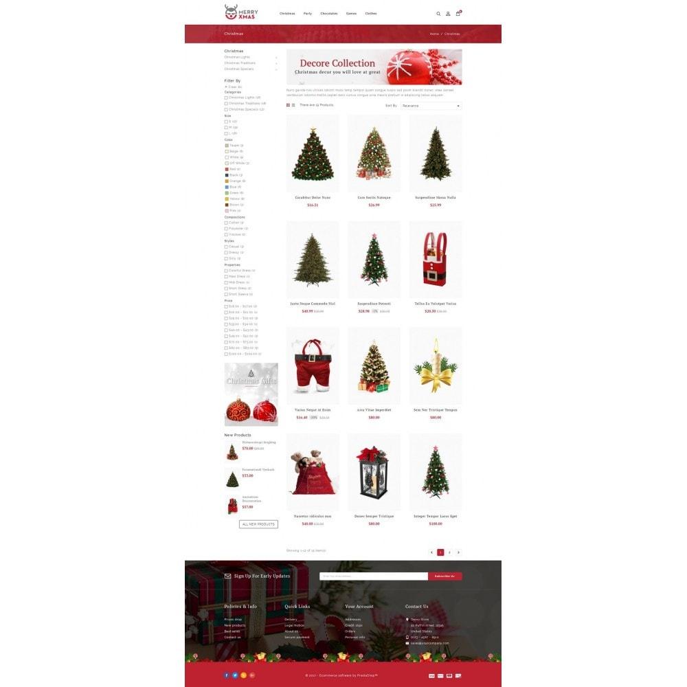 theme - Presentes, Flores & Comemorações - Merry XMAS - Gifts & Flowers Store - 3