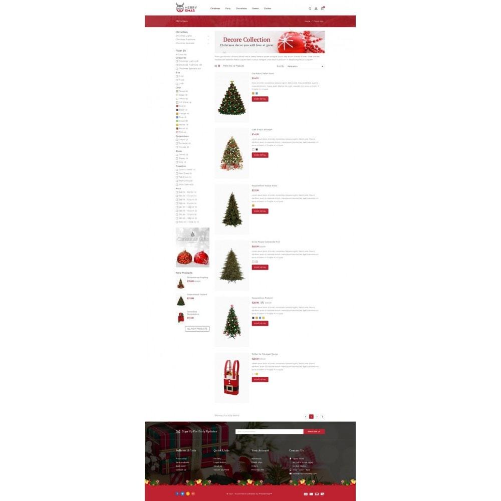 theme - Cadeaux, Fleurs et Fêtes - Merry XMAS - Gifts & Flowers Store - 4