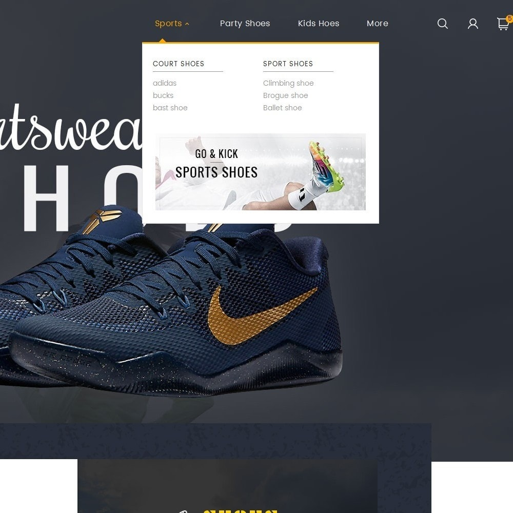theme - Спорт и Путешествия - Shoes Sport Store - 8