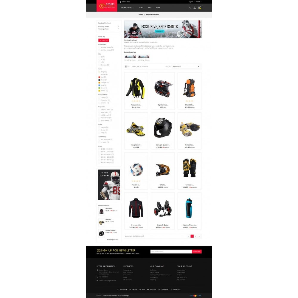 theme - Sport, Aktivitäten & Reise - Sports Store - 3