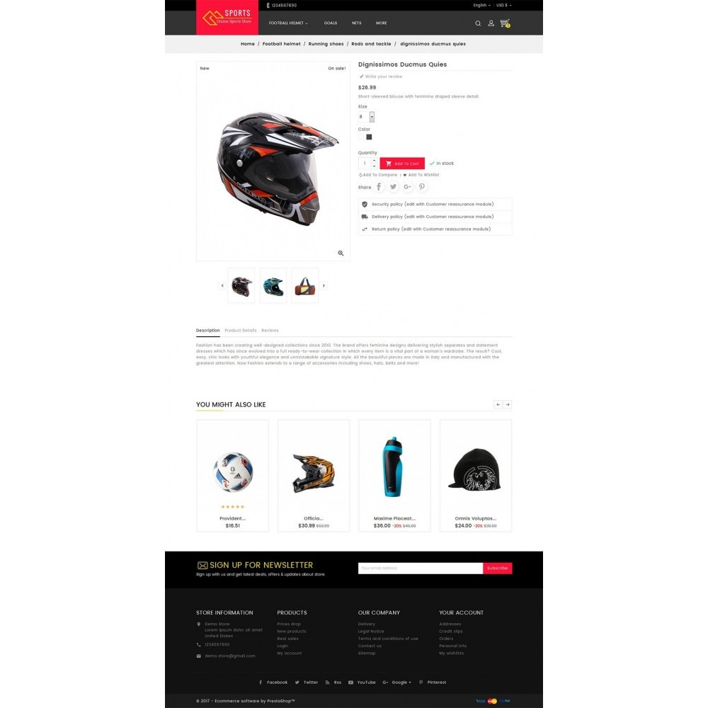 theme - Sport, Loisirs & Voyage - Sports Store - 5