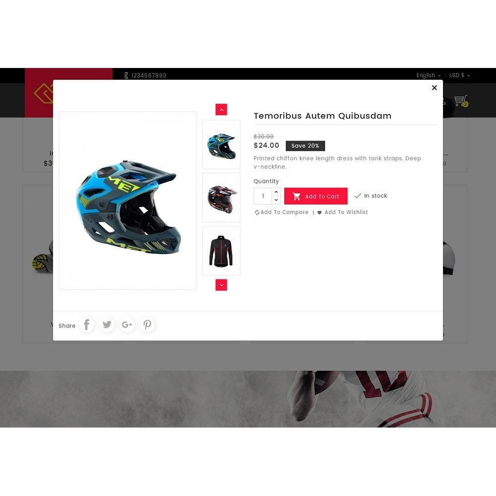 theme - Desporto, Actividades & Viagens - Sports Store - 7
