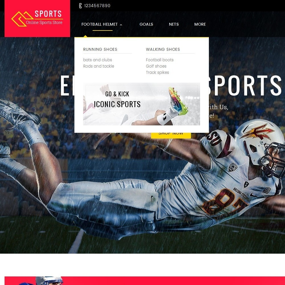 theme - Спорт и Путешествия - Sports Store - 8
