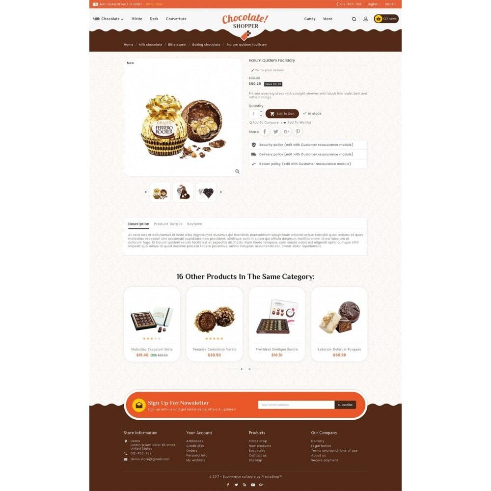 theme - Gifts, Flowers & Celebrations - Chocolate Cream - 5