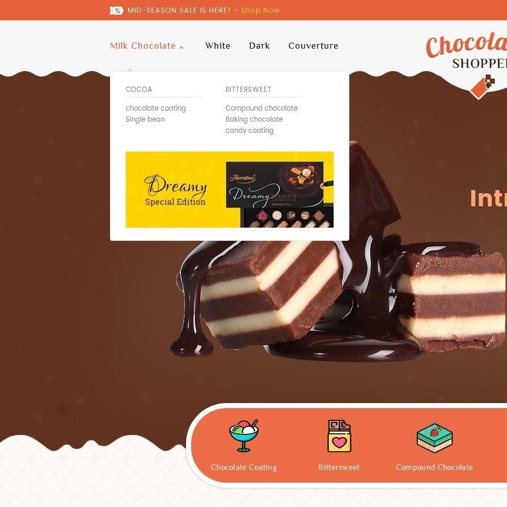 theme - Regalos, Flores y Celebraciones - Chocolate Cream - 8