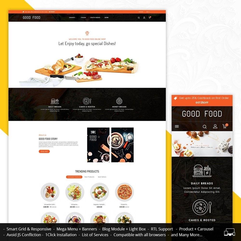 theme - Продовольствие и рестораны - Good Gusto Food - 1